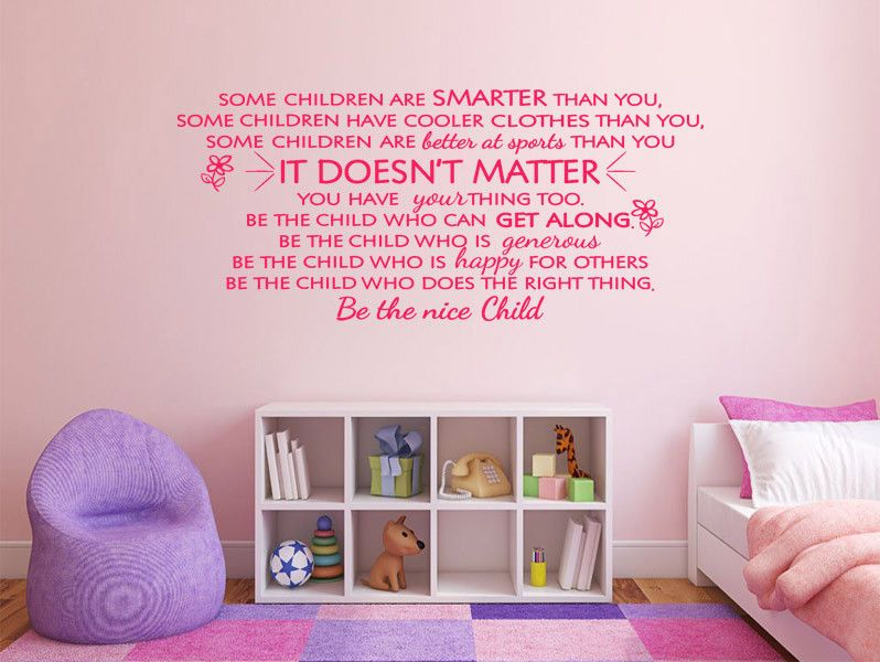 Noone Will Ever Know Wall Art Sticker Quote Decal Transfer Bedroom Childrens